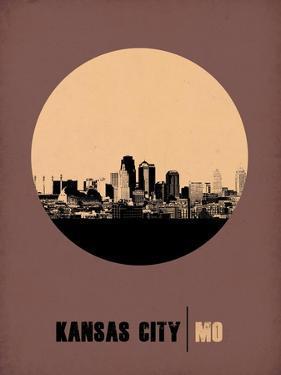 Kansas City Circle Poster 2 by NaxArt