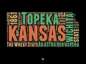 Kansas Word Cloud 1 by NaxArt