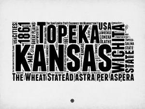 Kansas Word Cloud 2 by NaxArt