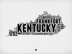 Kentucky Word Cloud 2 by NaxArt