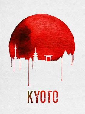 Kyoto Skyline Red by NaxArt