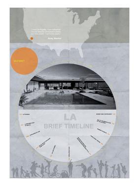 La Poster by NaxArt