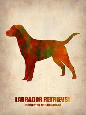 Labrador Retriever Poster by NaxArt