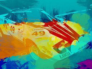 Lancia Stratos Watercolor 1 by NaxArt