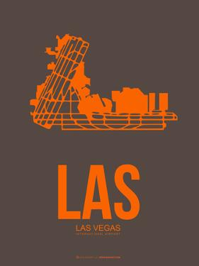 Las Las Vegas Poster 1 by NaxArt
