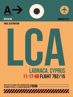 LCA Cyprus Luggage Tag I by NaxArt