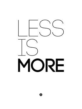Less Is More White by NaxArt