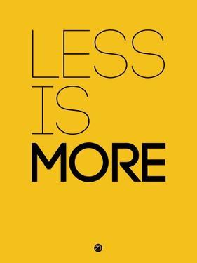 Less Is More Yellow by NaxArt