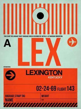 LEX Lexington Luggage Tag I by NaxArt