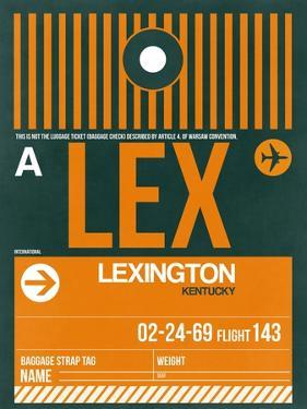 LEX Lexington Luggage Tag II by NaxArt