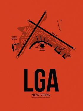 LGA New York Airport Orange by NaxArt