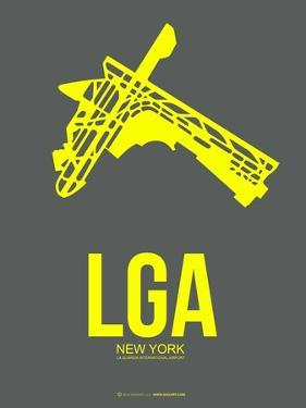 Lga New York Poster 1 by NaxArt