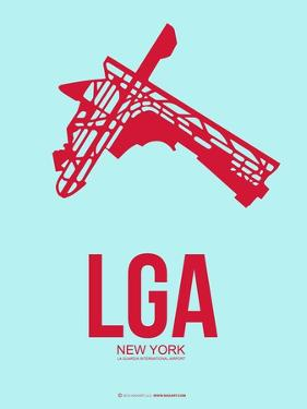 Lga New York Poster 2 by NaxArt