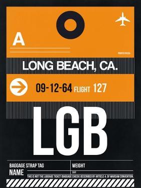 LGB Long Beach Luggage Tag II by NaxArt