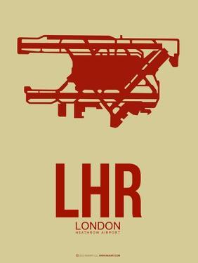 Lhr London Poster 1 by NaxArt