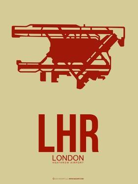 Lhr London Poster 1 by NaxArt