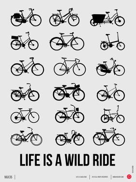 Life is a Wild Ride Poster I by NaxArt