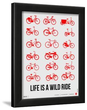 Life is a Wild Ride Poster II by NaxArt
