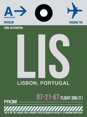 LIS Lisbon Luggage Tag II by NaxArt