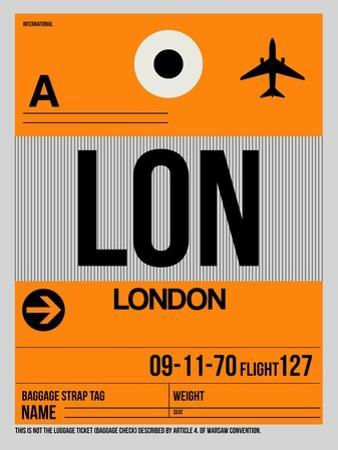 LON London Luggage Tag 1 by NaxArt