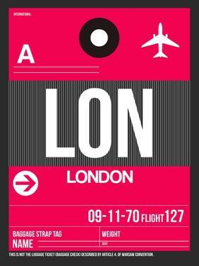 LON London Luggage Tag 2 by NaxArt