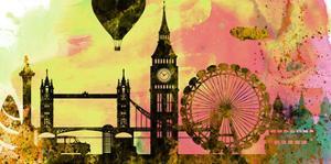 London City Skyline by NaxArt