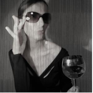 Loren with Wine by NaxArt