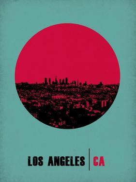 Los Angeles Circle Poster 1 by NaxArt