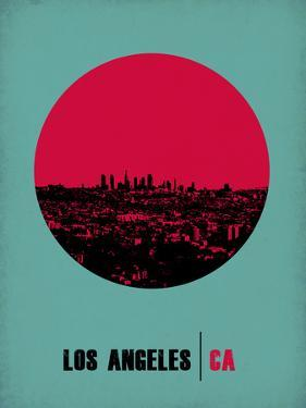 Los Angeles Circle Poster 1 by NaxArt