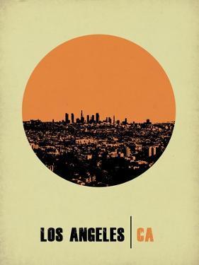 Los Angeles Circle Poster 2 by NaxArt