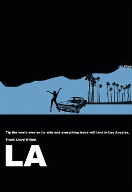 Los Angeles Poster by NaxArt