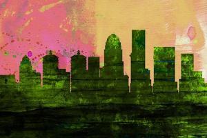 Louisville City Skyline by NaxArt