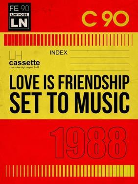 Love Is Friendship Set To Music by NaxArt