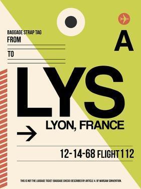 LYS Lyon Luggage Tag I by NaxArt