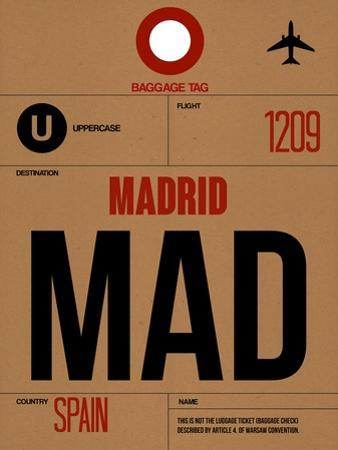 MAD Madrid Luggage Tag 2 by NaxArt