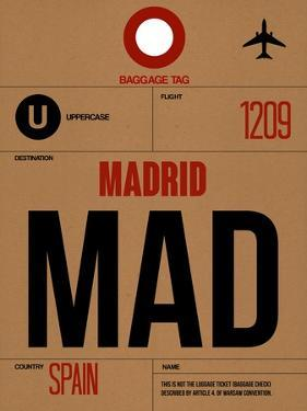 MAD Madrid Luggage Tag 2 by NaxArt