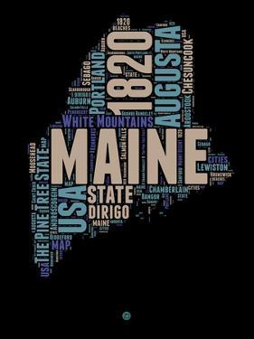 Maine Word Cloud 1 by NaxArt