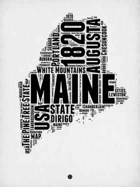 Maine Word Cloud 2 by NaxArt