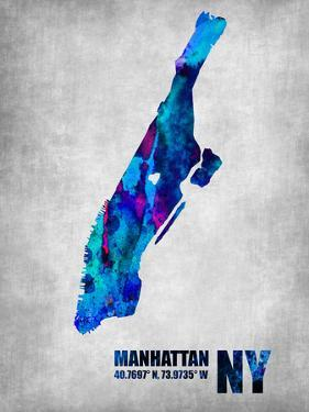 Manhattan New York by NaxArt