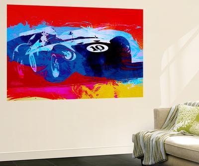 Maserati On The Race Track 1NaxArt. Wall Mural Part 48