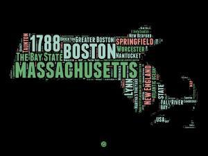 Massachusetts Word Cloud 1 by NaxArt