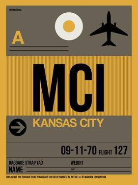 MCI Kansas City Luggage Tag 1 by NaxArt