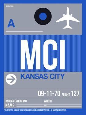 MCI Kansas City Luggage Tag 2 by NaxArt