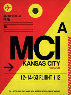 MCI Kansas City Luggage tag I by NaxArt