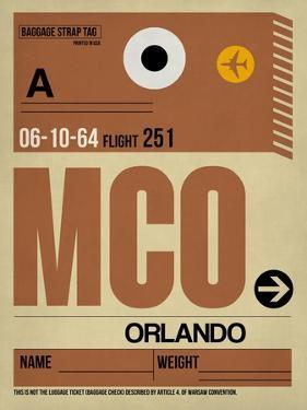 MCO Orlando Luggage Tag I by NaxArt