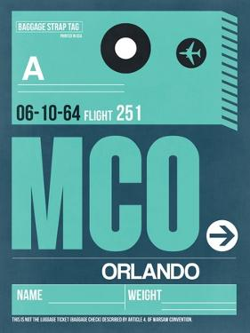 MCO Orlando Luggage Tag II by NaxArt