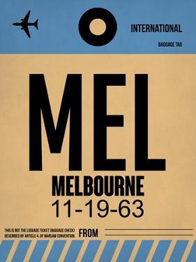 MEL Melbourne Luggage Tag 1 by NaxArt