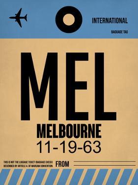MEL Melbourne Luggage Tag 1 by NaxArt