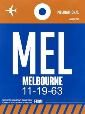 MEL Melbourne Luggage Tag 2 by NaxArt