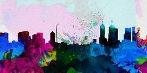 Melbourne City Skyline by NaxArt